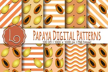 Papaya Patterns 2