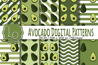 Avocado Patterns 2