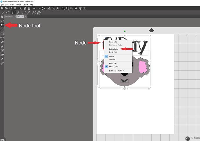 Removing nodes in Studio