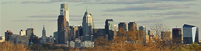 Philly skyline from plateau sas1