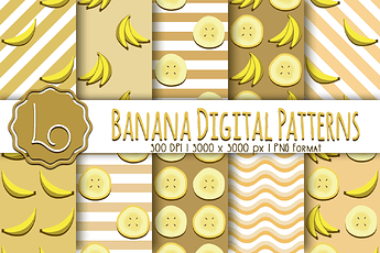Banana Patterns 2