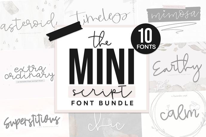 Mini Script Bundle