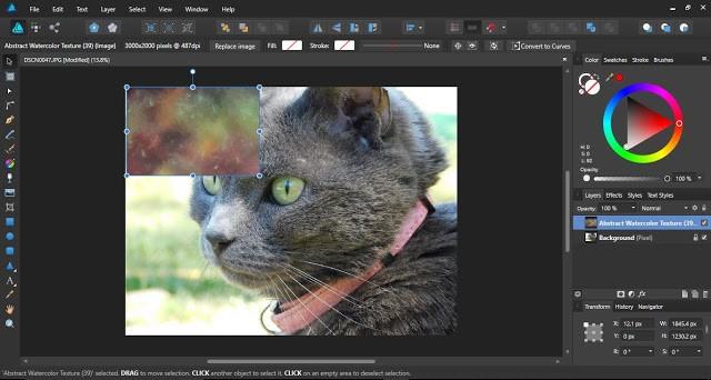 textures in affinity designer 4