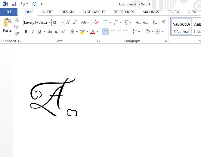 font cut off in microsoft word