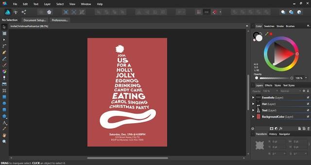 templates affinity designer 4