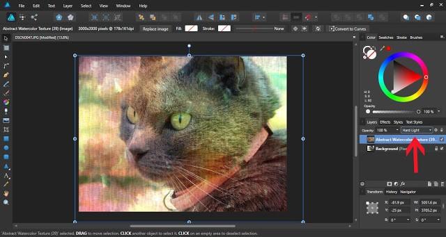 textures in affinity designer 8