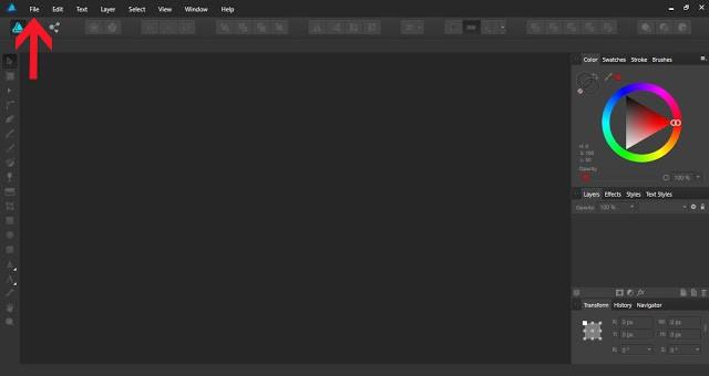 textures in affinity designer 1