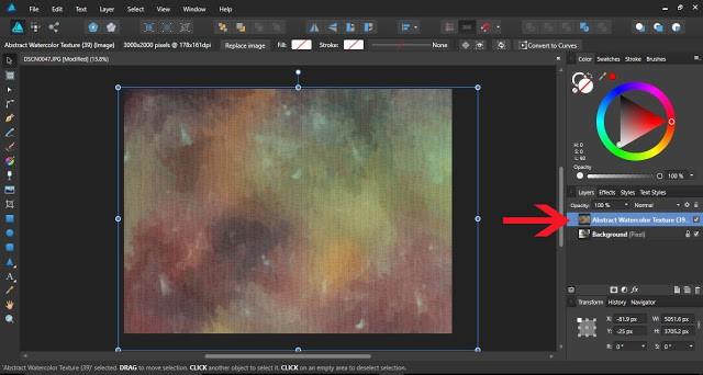 textures in affinity designer 5